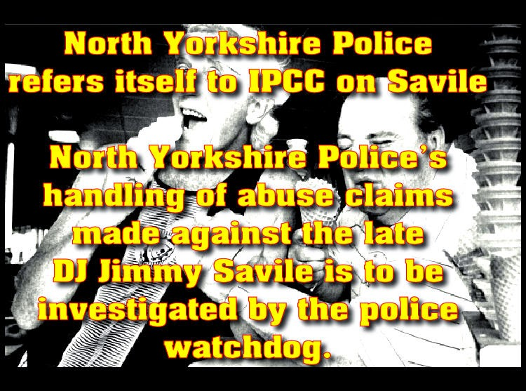 North Yorkshire Police refers itself to IPCC on Savile