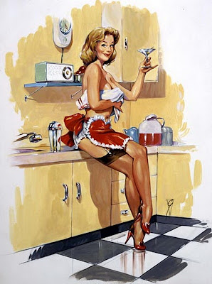 Bill Garland pin up girl
