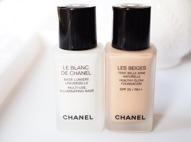 Chanel Le Blanc de Chanel and Les Beiges Foundation.  Get Lippie