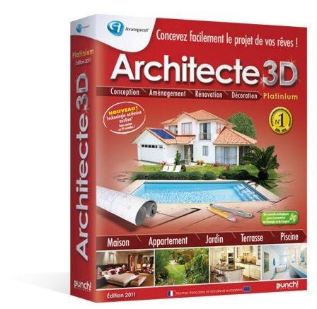 Architecte 3d platinium nexgen for Architecte 3d platinium gratuit