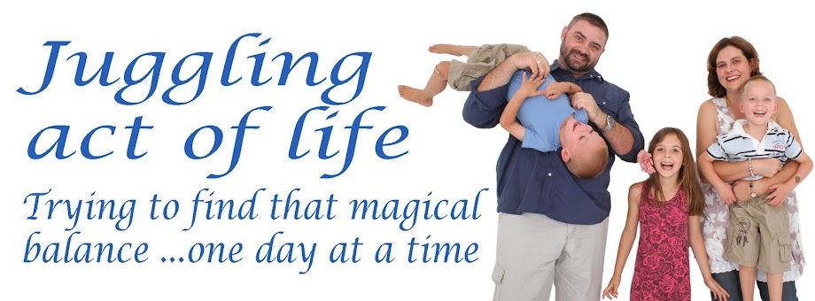 juggling act of life