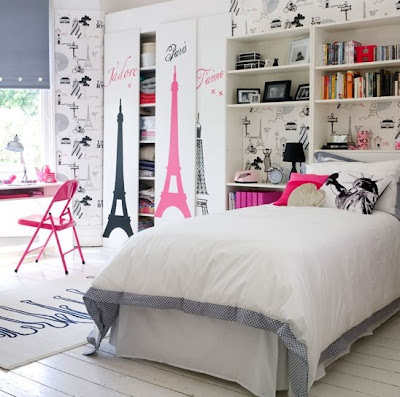 habitación juvenil espacio reducido