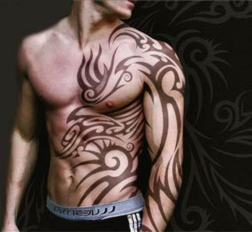 Man Tattoo Art Design