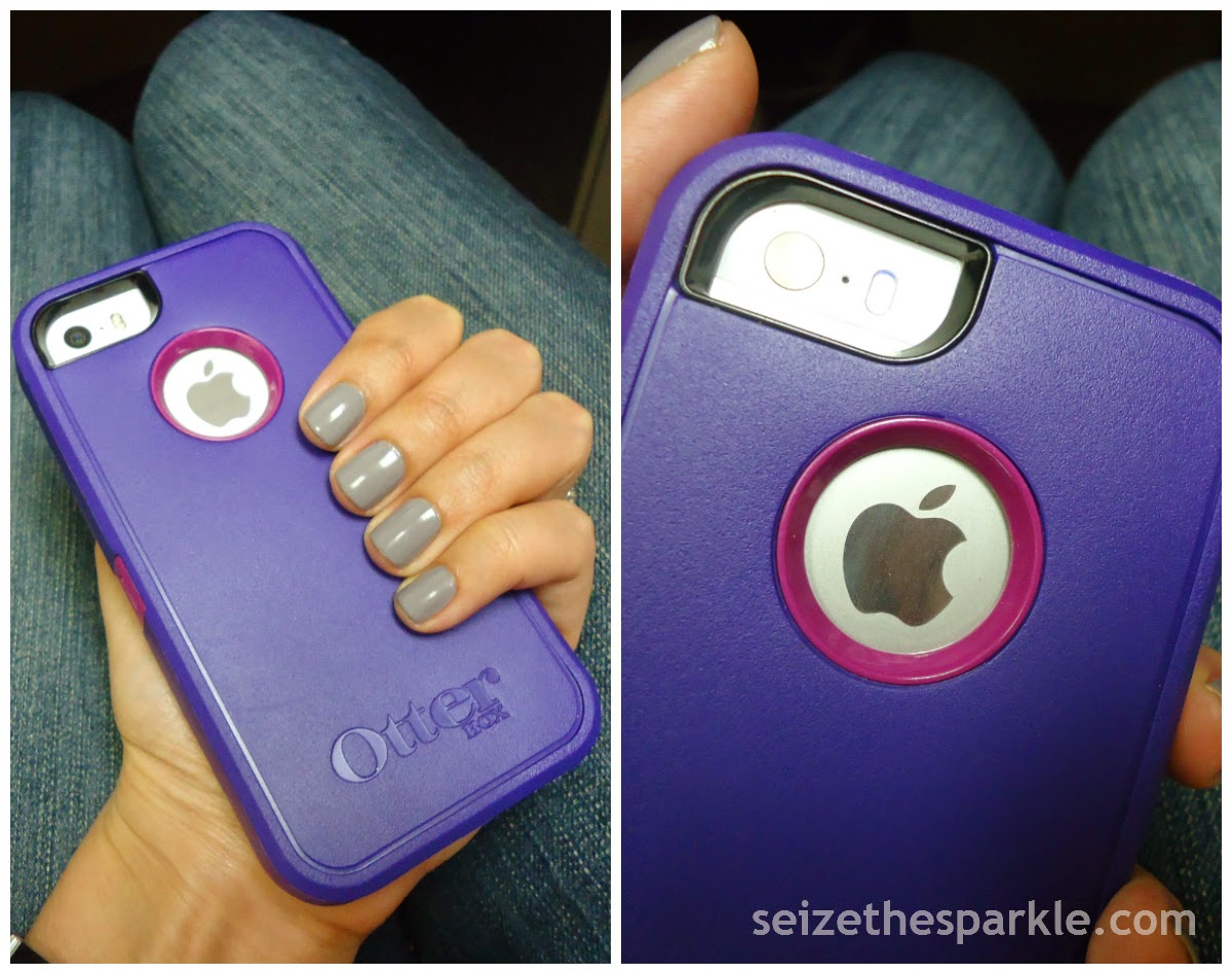 SOPI Frankly I Don't Give A-Dam, Purple Otterbox Defender