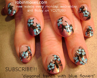 Blue flower nail art design purple flower nail art design hippie blue flower nail art design purple flower nail art design hippie rainbow flower nail art design pink daisy flower nail art design sprintime flower nail prinsesfo Gallery