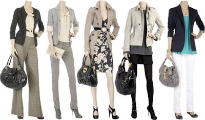 peças de roupas clássicas femininas