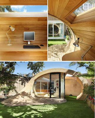 Diseño de oficina prefabricada