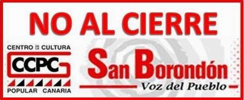 NO al cierre de Radio San Borondón