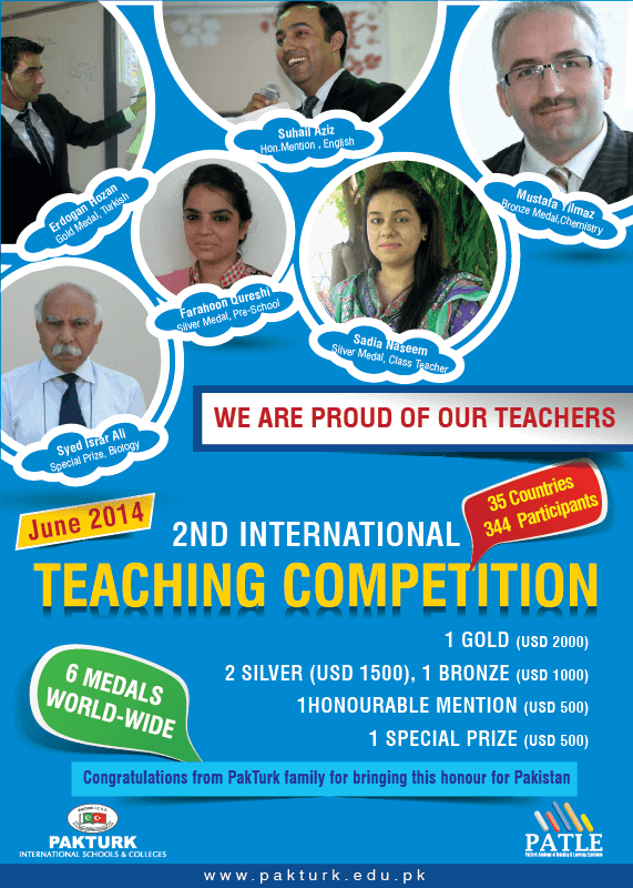 TEACHING CONTEST