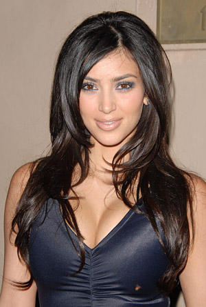 kim kardashian hairstyle 2011 three