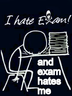 Funny Pictures DP for Bbm and whatsapp i hate exam