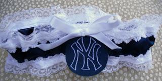 Yankees garter