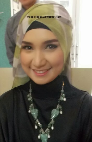 Make up Natural simple hijab stylist - party