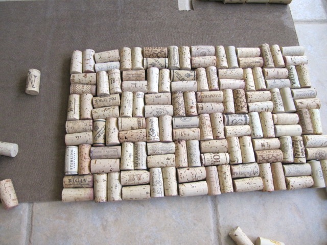 Wine Cork Backsplash Part - 22: Wine Cork Backsplash