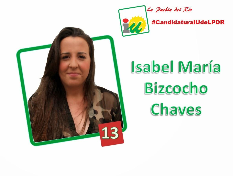 #CandidaturaIUdeLPDR Isabel Mª Bizcocho