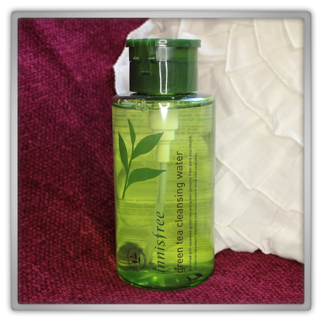 Jolse Innisfree Haul Review green tea pure cleansing water it's real squeeze mask strawberry manuka honey beauty blogger