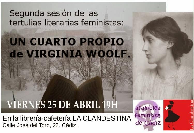 II TERTULIAS LITERARIAS FEMINISTAS