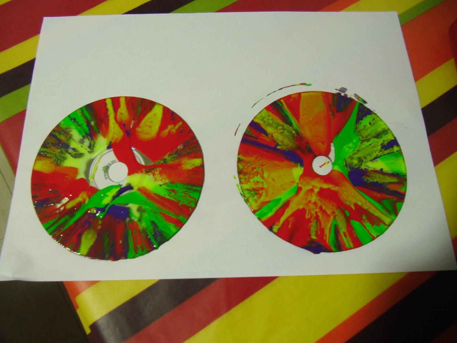 DECORAR CDS VIEJOS PARA HACER UN MÓVIL