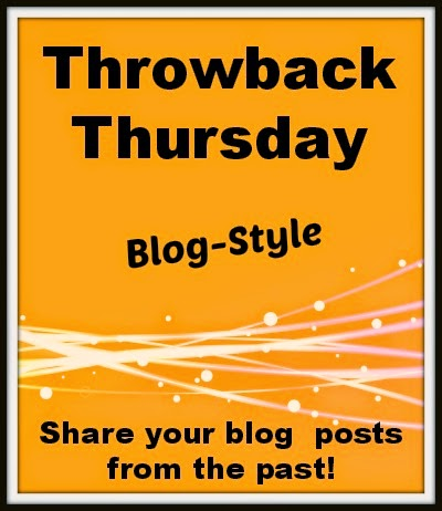 Throwback Thursday Blog-Style