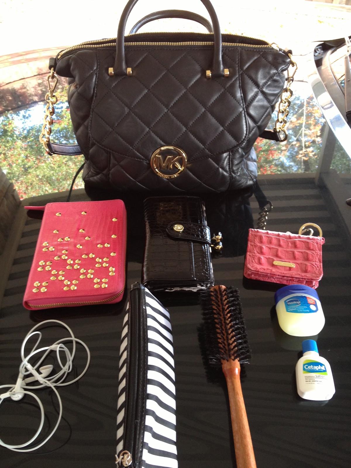 Sale Michael Kors Fulton Satchels - 2013 01 Whats In My Bag