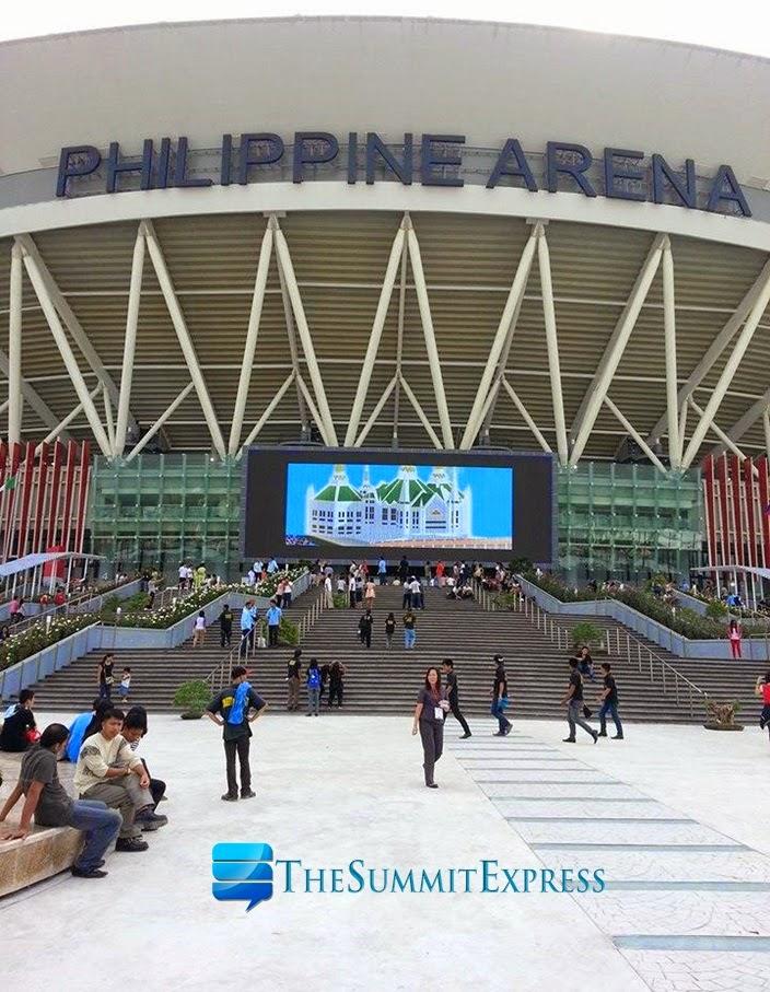 Philippine Arena Bulacan facade
