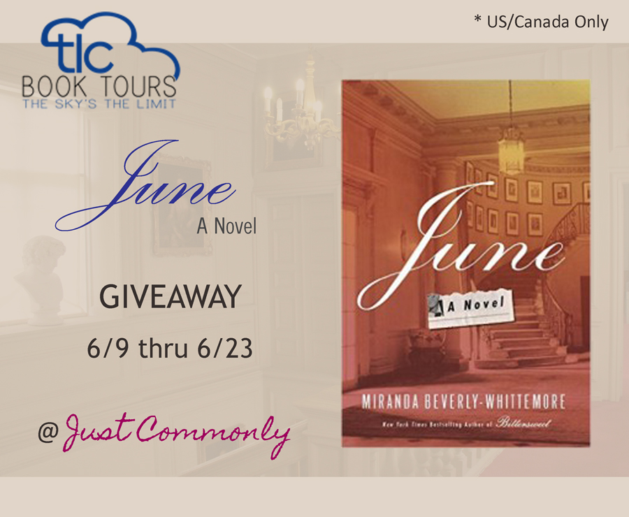 June: A Novel Tour + Giveaway thru 6/23