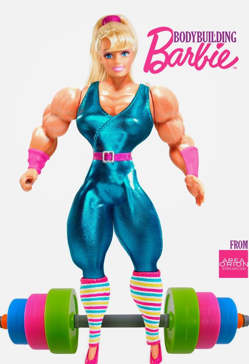 Area Orion: Bodybuilding Barbie