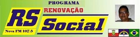 Programa Renovação Social com novo horário na grade de programação da Nova Rádio 107,5