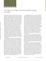Mey Akashah, The Fight and Flight of Environmental Change.