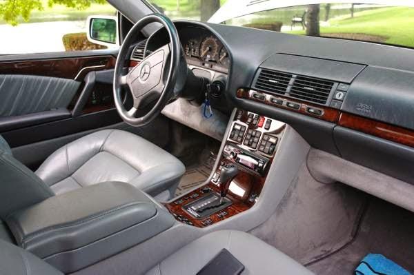1995 Mercedes Benz S500 Coupe Auto Restorationice