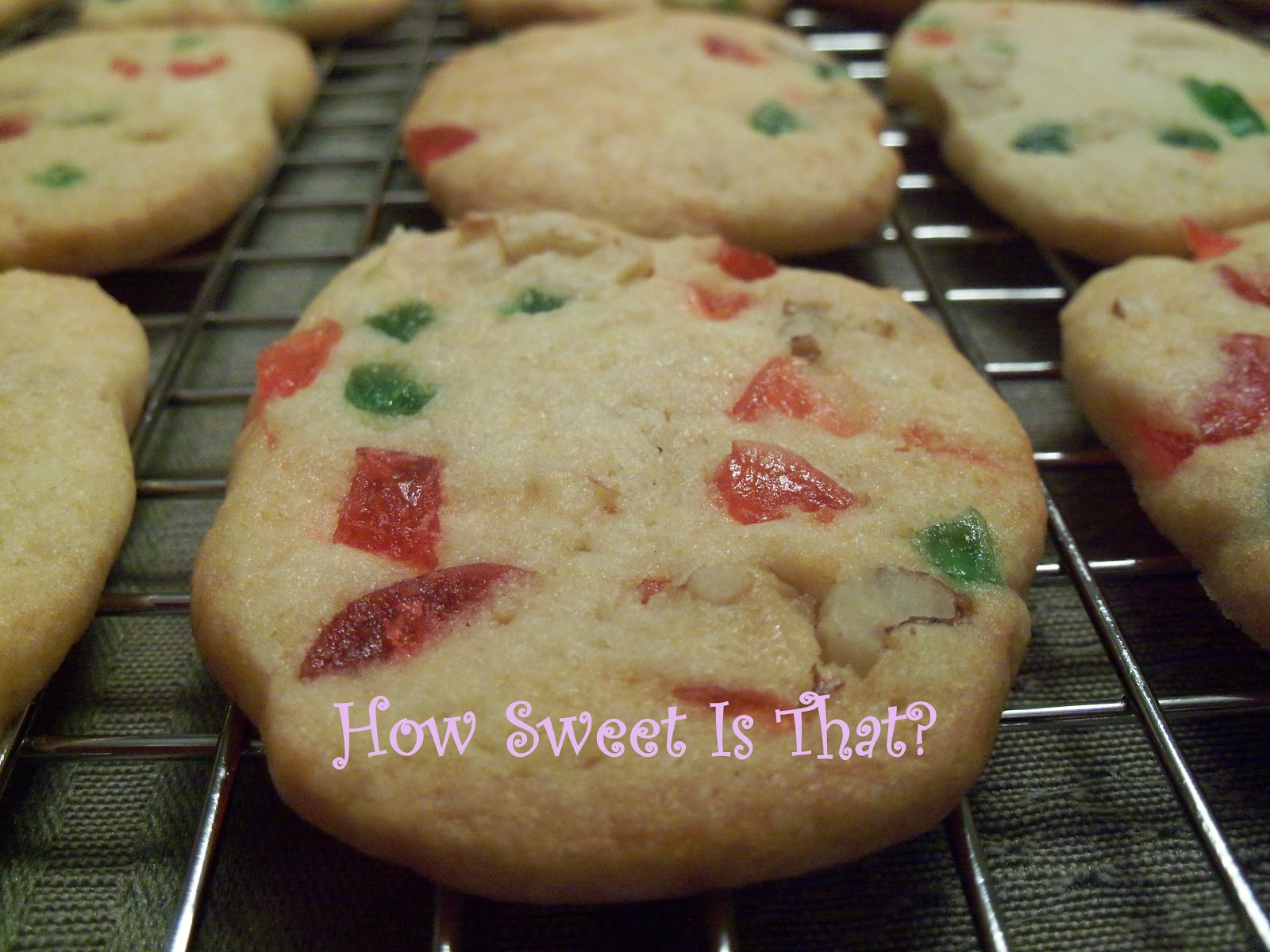 How Sweet Is That Fruit And Nut Refrigerator Cookies