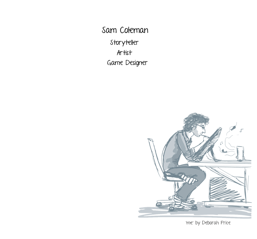 Sam Coleman Storyteller, Illustrator.