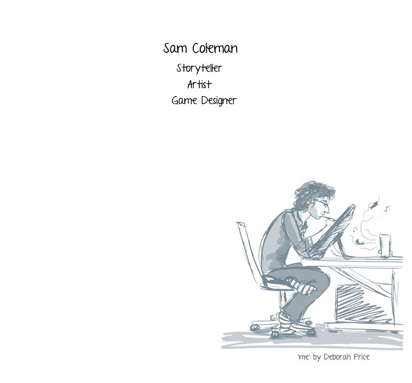 Sam Coleman Storyteller, Illustrator.