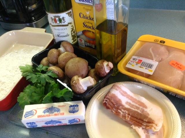 Food Network Scholar Chicken Marsala