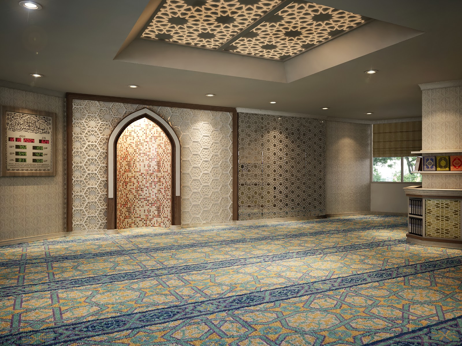 Delightful Pin By Irfan Adam On Surau | Pinterest | Mosque, Prayer Room And Islamic Part 28