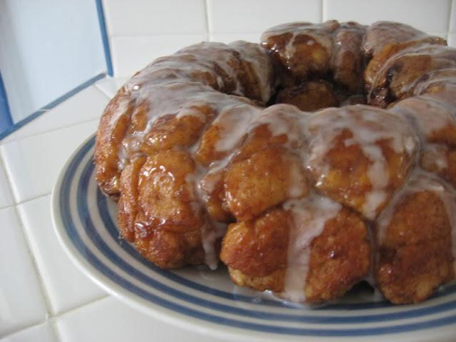 Orange Glazed Monkey Bread by freshfromthe.com