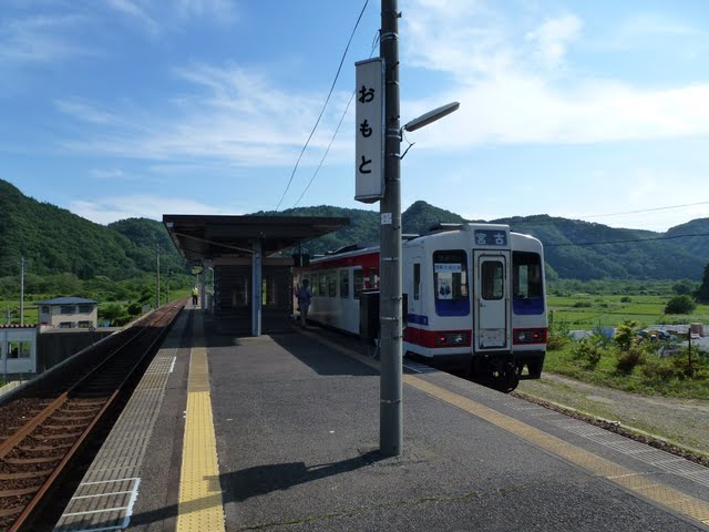 三陸鉄道 小本駅