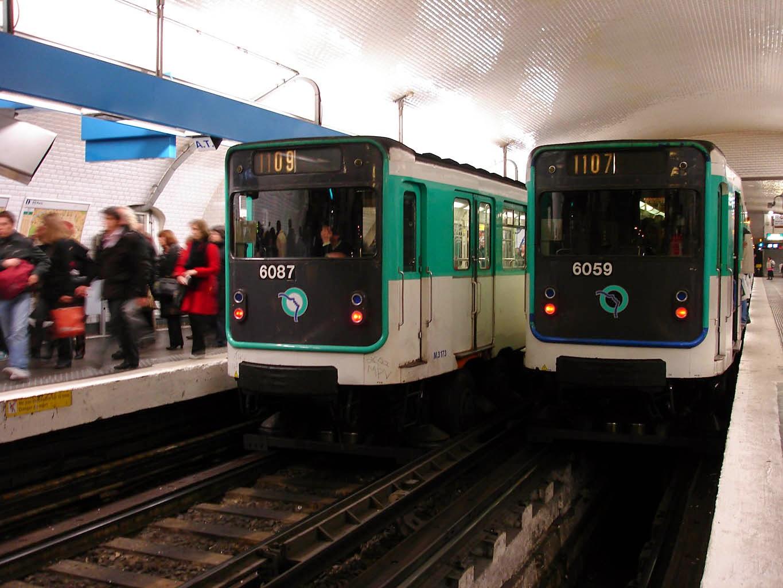 Linia żółta metro w Paryżu