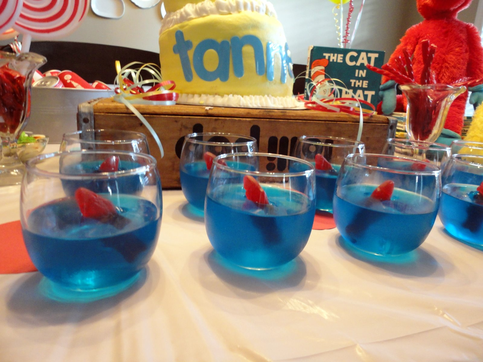 Tanners Dr Suess Party on Pinterest Decorating Ideas Dr Seuss