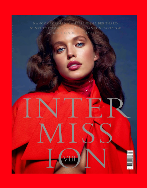 Emily DiDonato covers Intermission Magazine No.8