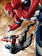 IRON PATRIOT VS CAPITÁN AMÉRICA (BUCKY) (iron patriot vs captain america)