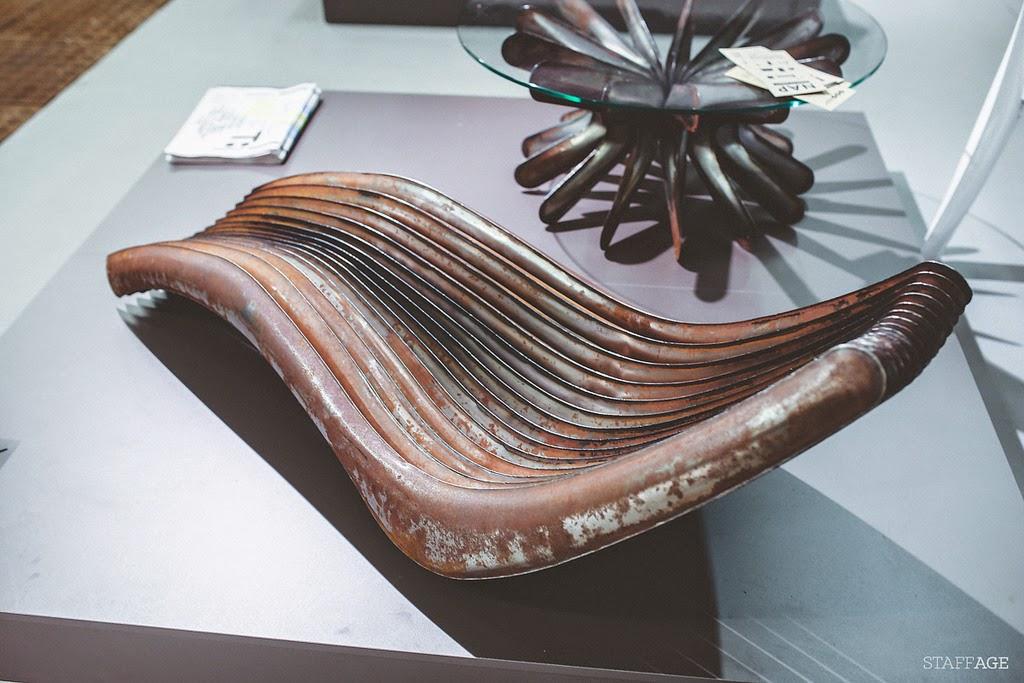 leżak z rur,co można zrobić ze starego kaloryfera,designerki mebel z rur,stolik z rur,łóź design festival