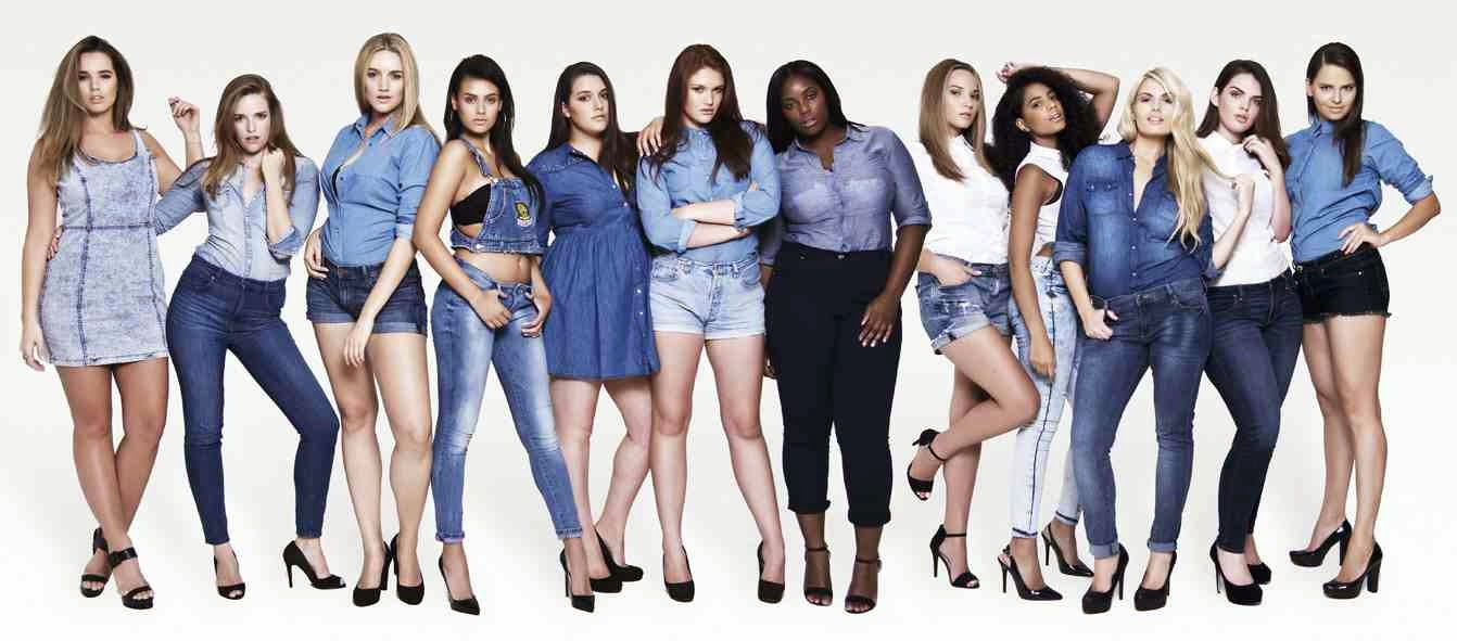 Models 1 Curve Campaign Beauty In Every Shape And Size Style Me Curvy
