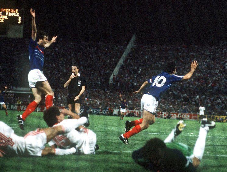 Portugalia - Francja, Euro 1984