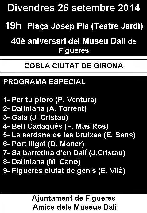 La sardana, protagonista dels 40 anys del Museu Dalí