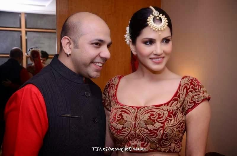 Sunny Leone for Designer Mayyur R Girotra
