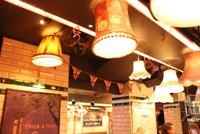 Cahoots London Undergound Bar Tube Station