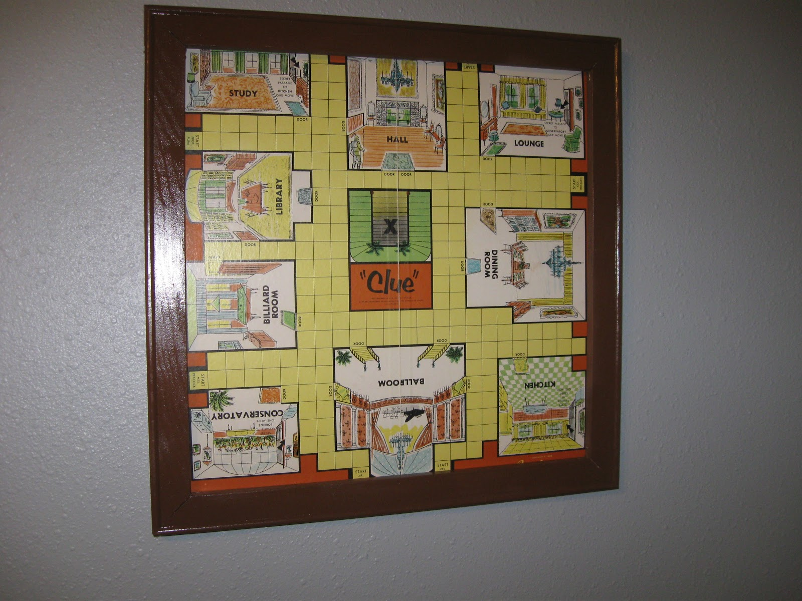 The Dabbling Crafter: DIY Sunday: Board Game Frame
