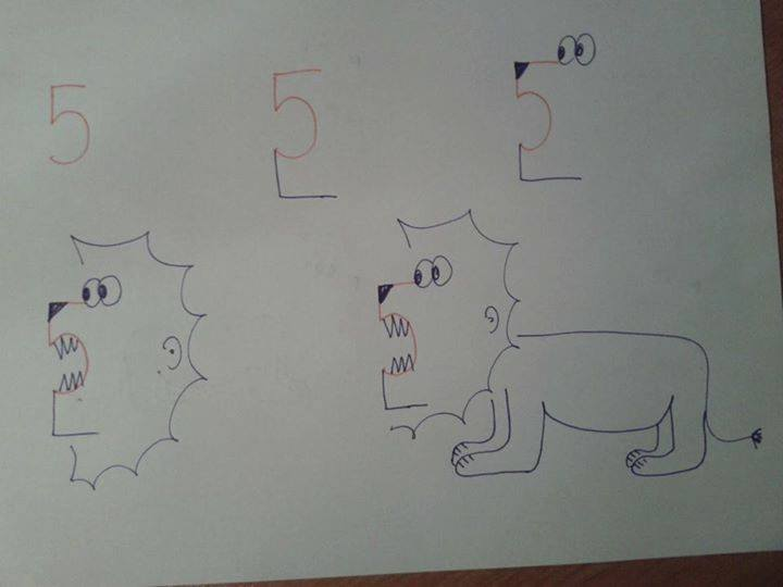 Nidokidos Kids Friendly Drawing With Numbers As A Base Fun And
