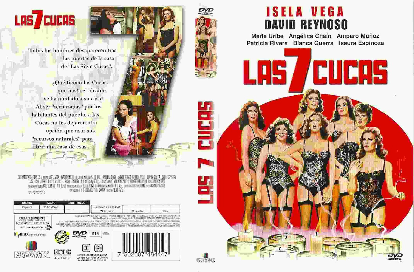 las 7 cucas 1981 isela y sus 6 hijas son las 7 cucas que todos los ...